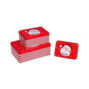 Σετ 3 μεταλλικά κουτιά  KL-821-13 Xρηστικά