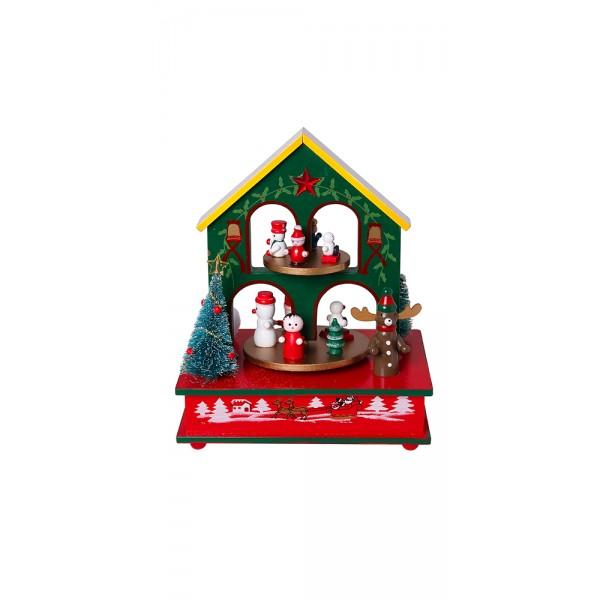 Χριστουγεννιατικα διακοσμητικα - Διακοσμητικό με μουσική MB-812 ΝΕΕΣ ΠΑΡΑΛΑΒΕΣ ΧΡΙΣΤΟΥΓΕΝΝΑ 2021