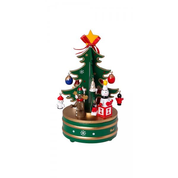 Χριστουγεννιατικα διακοσμητικα - Διακοσμητικό με μουσική MB-813 ΝΕΕΣ ΠΑΡΑΛΑΒΕΣ ΧΡΙΣΤΟΥΓΕΝΝΑ 2021