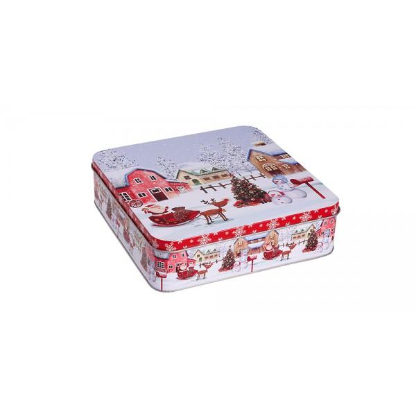 Χριστουγεννιατικο κουτι- Mεταλλικό κουτί PT-692A ΝΕΕΣ ΠΑΡΑΛΑΒΕΣ ΧΡΙΣΤΟΥΓΕΝΝΑ 2021