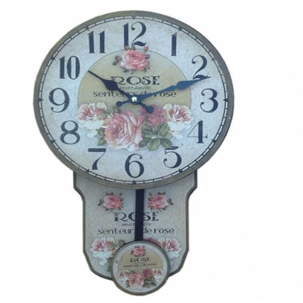 Ρολόι εκκρεμές 33*22εκ. CM-322 Ρολόι