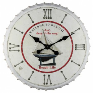 Ρολόι μεταλλικό 60Χ60Χ5.5εκ ΝΝ-577 ΝΕW Ρολόι