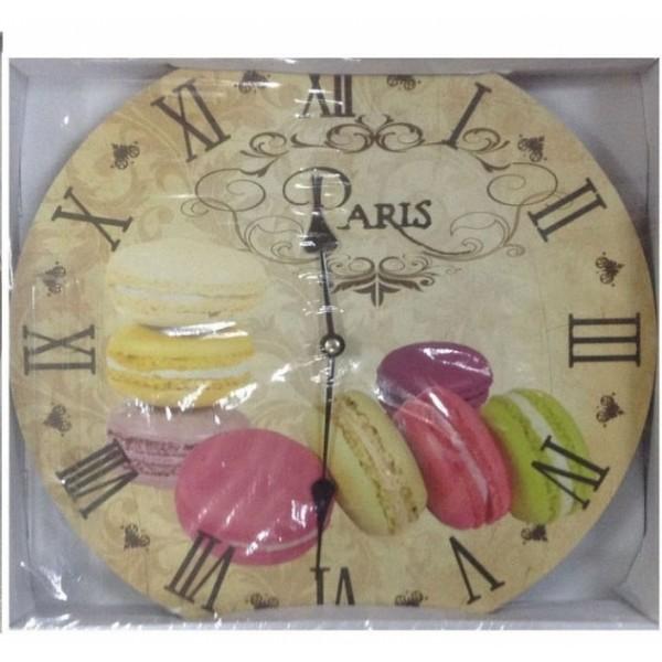Ρολόι τοίχου 34εκ ΝΝ-162-122 Ρολόι