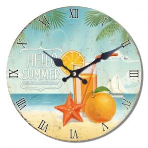 Ρολόι τοίχου 34εκ ΝΝ-162-406 Ρολόι