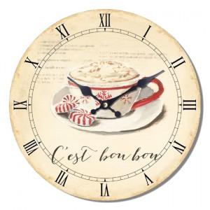 Ρολόι τοίχου 34εκ ΝΝ-162-502 NEW