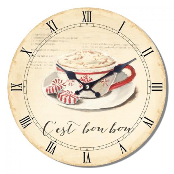Ρολόι τοίχου 34εκ ΝΝ-162-502 NEW Ρολόι