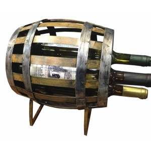 Βαρέλι-θήκες για μπουκάλια κρασιού TM-679 NEW Αξεσουάρ κρασιού