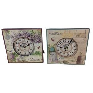 Eπιτραπέζιο ρολόι 16x16εκ TM-620 (35% έκπτωση)