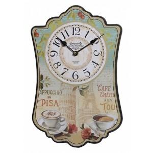 Ρολόι τοιχου MDF DL-612B ΝΕW