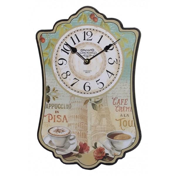 Ρολόι τοιχου MDF DL-612B ΝΕW Ρολόι