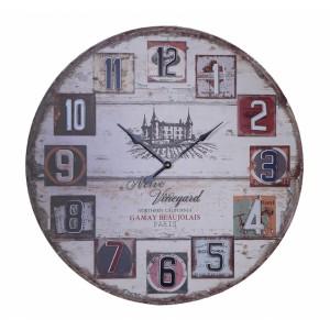 Ρολόι τοίχου 62εκ ΝΝ-195-144 NEW Ρολόι