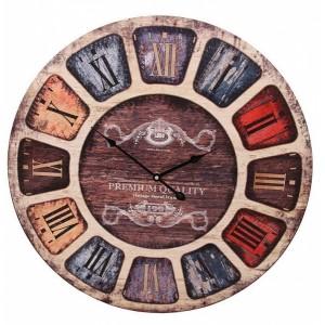 Ρολόι τοίχου 62εκ ΝΝ-195-125 Ρολόι