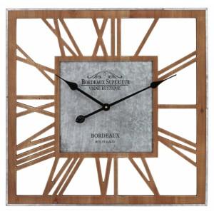 Ρολόι τοίχου 60x60x4εκ NN-872 NEW Ρολόι