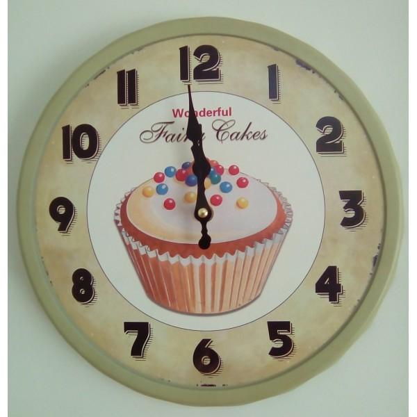 Ρολόι μεταλλικό 35εκ ΝΝ-198-3 NEW Ρολόι