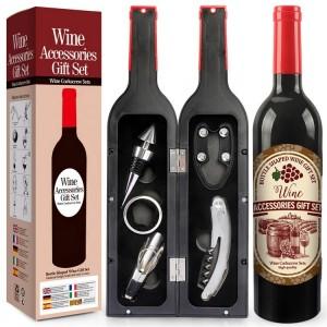 Θήκη με αξεσουαρ κρασιού MB-072B NEW Αξεσουάρ κρασιού