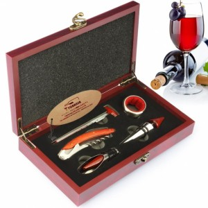 Θήκη με αξεσουαρ κρασιού MB-073 NEW Αξεσουάρ κρασιού